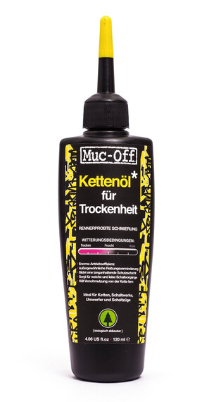 Muc-Off Dry Lube Smøremiddel til tørhed 120 ml sort